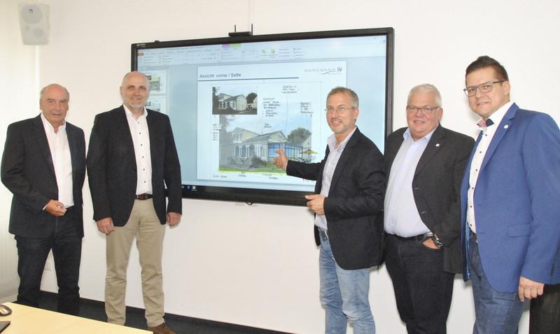Getränke Nordmann und Stiftung Johanneum entwickeln Nutzungskonzept ...